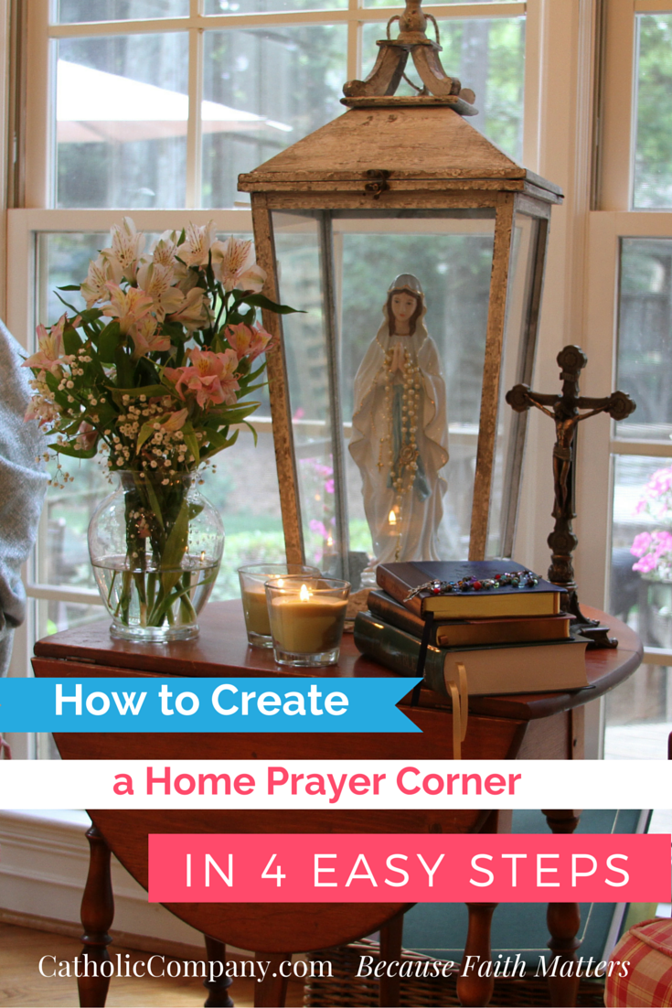 How to Create a Home Prayer Corner in 4 Easy Steps | Sacred