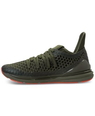 Puma Men s Ignite Limitless Netfit Casual Sneakers from Finish Line - Green  10.5 00caa4064