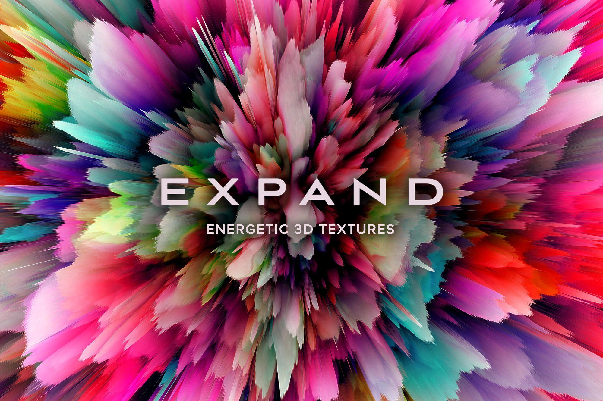 Expand energetic 3d textures texture web graphics
