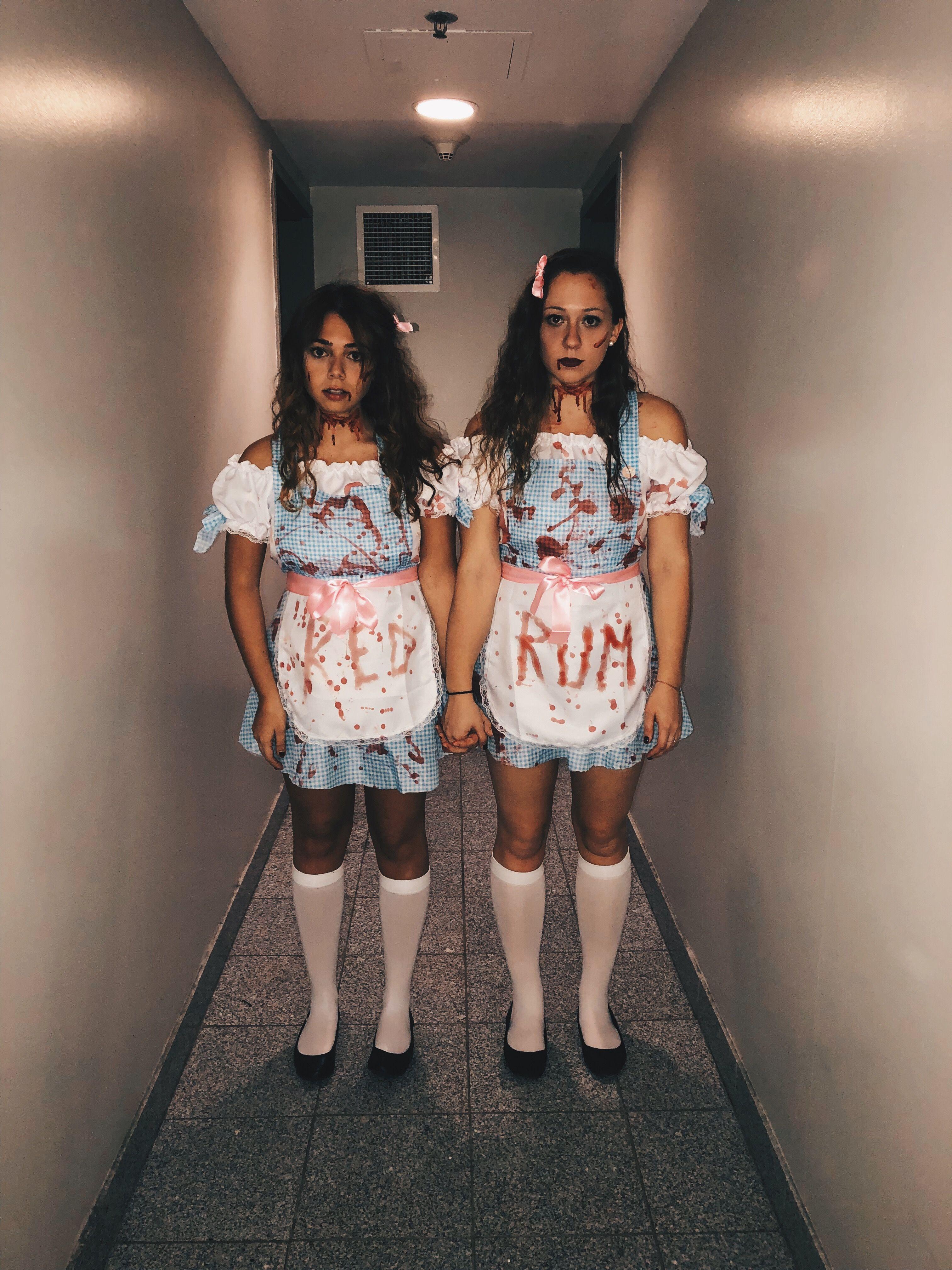 The Shining twins Halloween costume t i p s Pinterest
