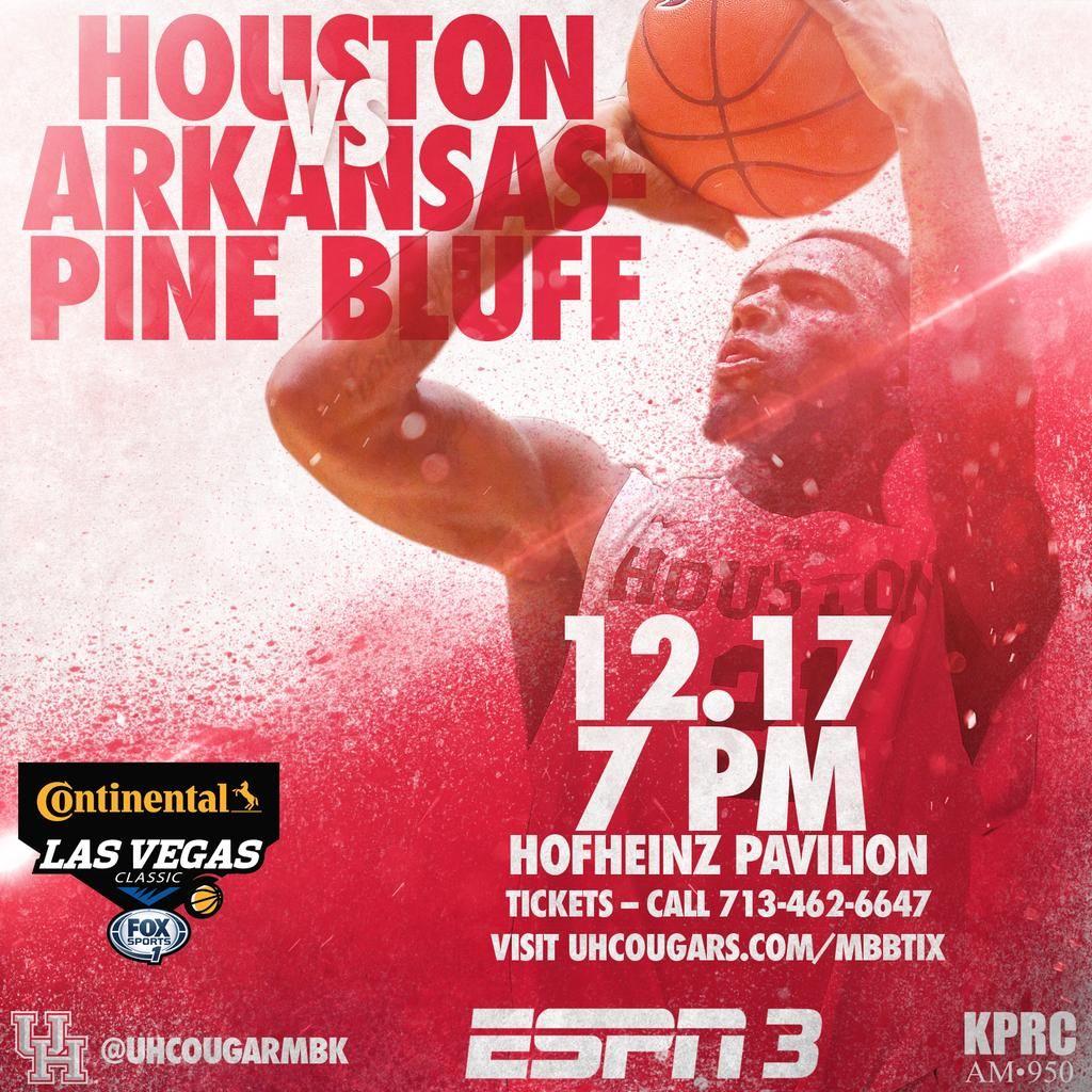 Houston mens hoops on gameday sports houston pine