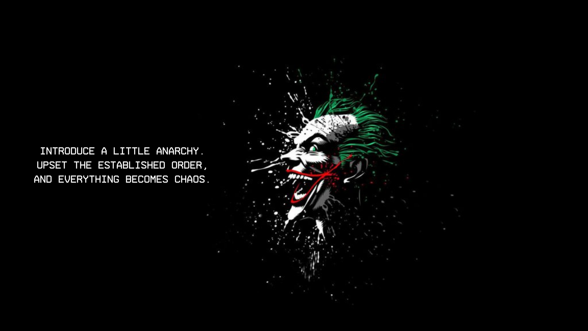 Wallpaper Quote Joker Movie Quotes Chaos Society Movie Quotes Wallpaper Quotes Real Quotes