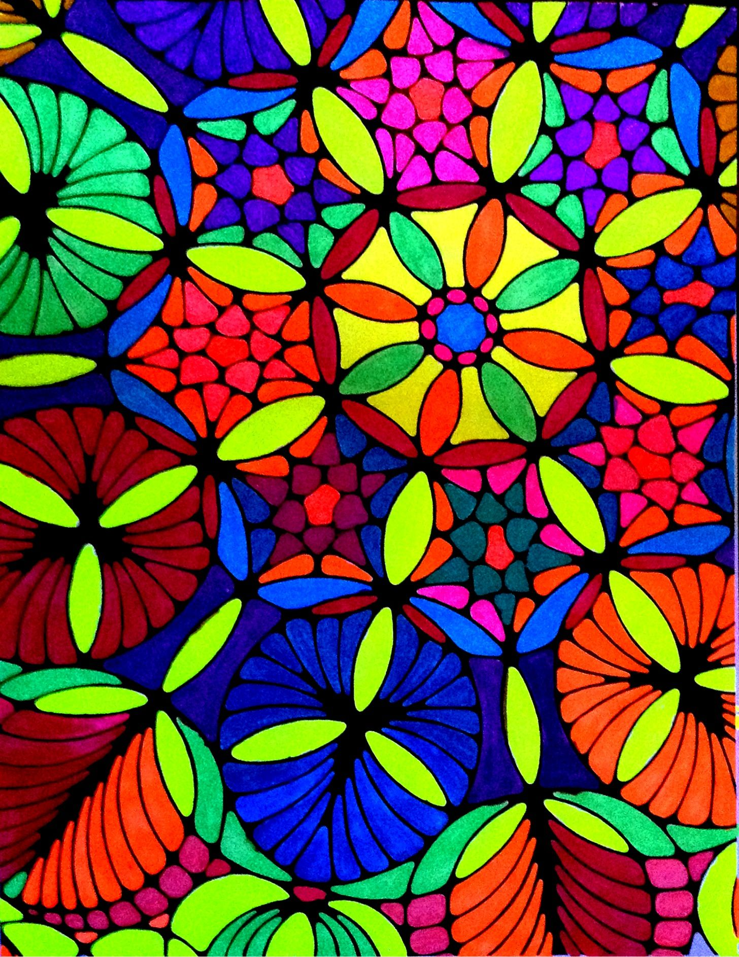 Pin by Robin Taylor on Kaleidoscopia Coloring Books | Pinterest ...