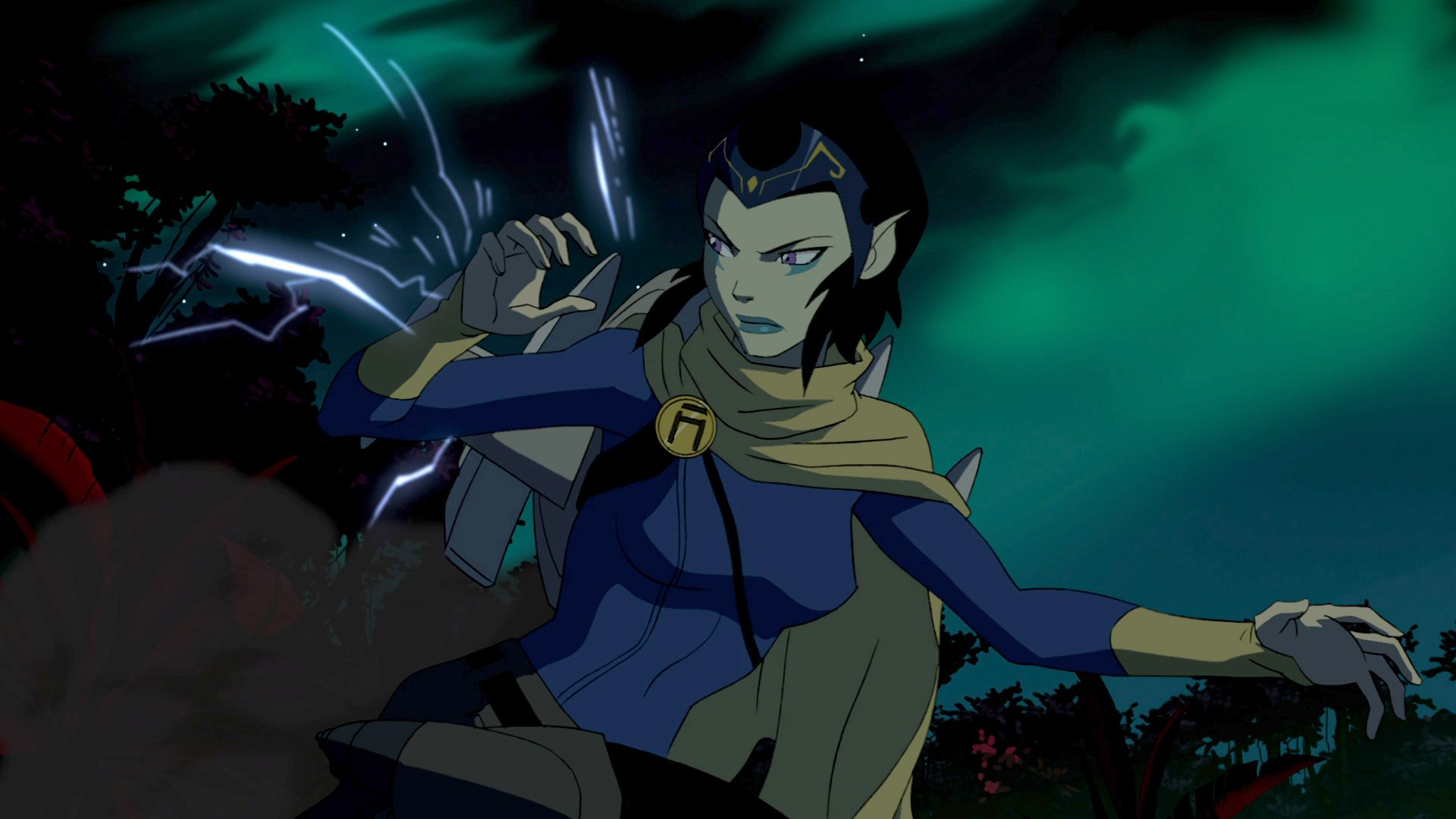 Youngjusticebeastboyandraven  Young Justice Season 2 -8738