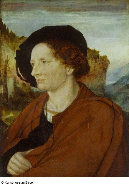 Ambrosius Holbein, Bildnis des Goldschmieds Jörg Schweiger (ca. 1518, Kunstmuseum Basel)