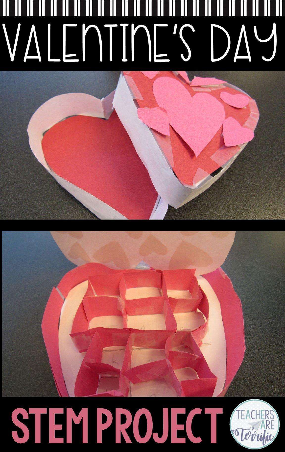 Valentine S Day Stem Challenge Candy Box