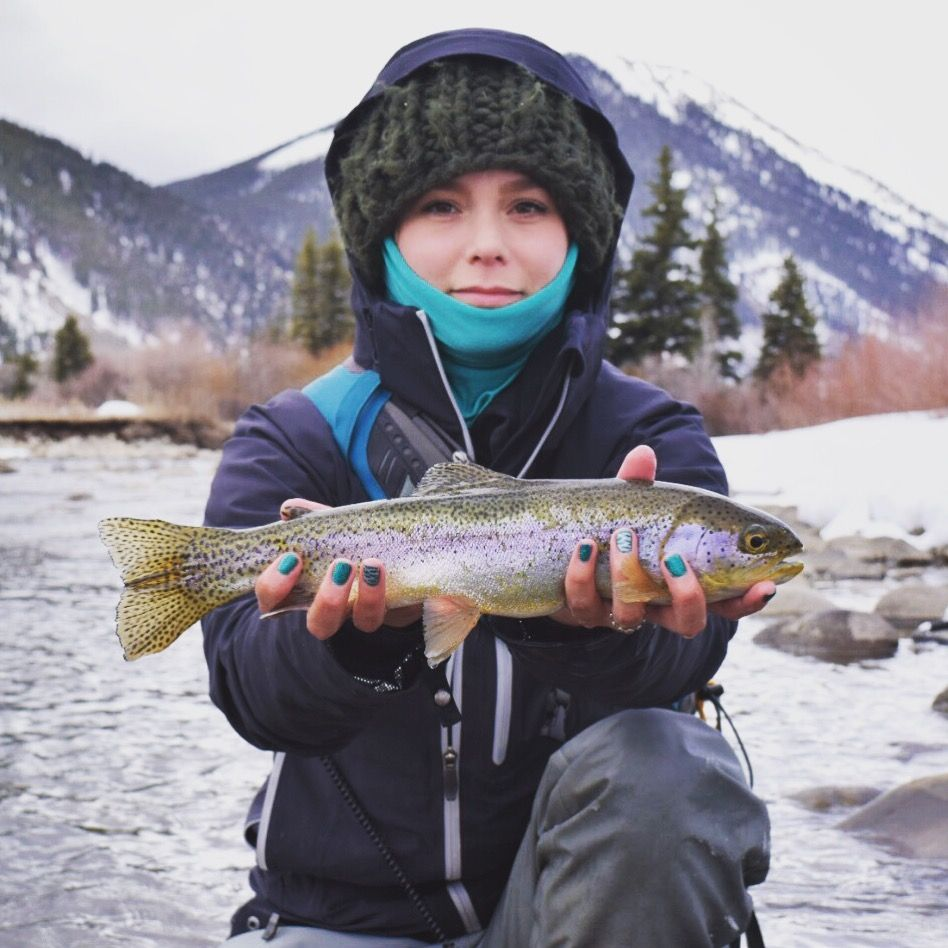 Flygalfriday Women Of Fly Fishing Kaitlin Boyer Featured Angler Denver Outfitters Fly Fishing Women Fly Fishing Angler