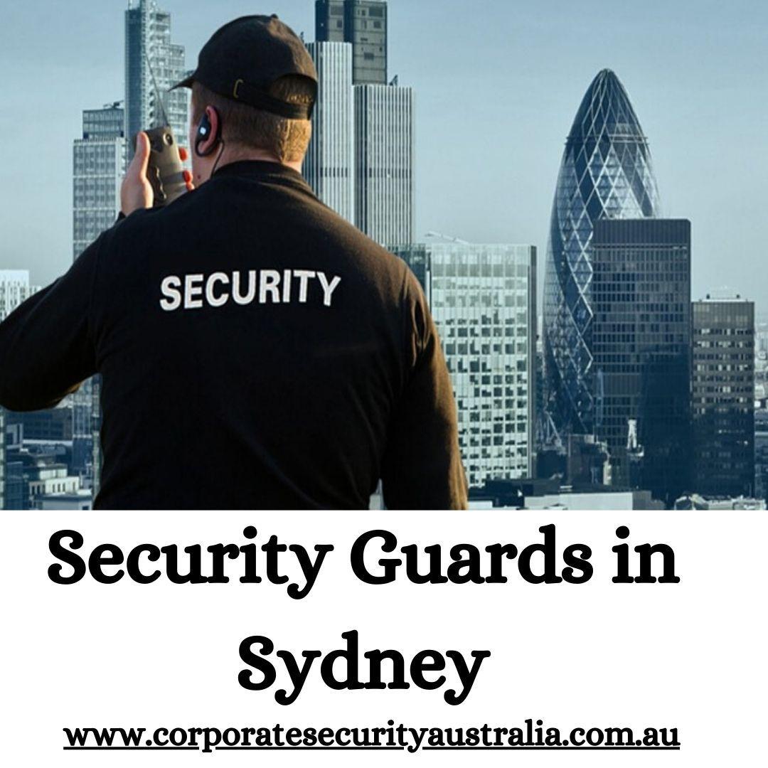 Security Guards Sydney Corporate Security Australia in