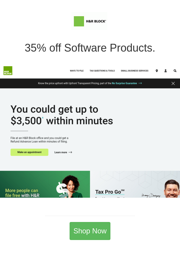 35 Off Software Products In 2020 Tax Software Small Business Services Tax Refund