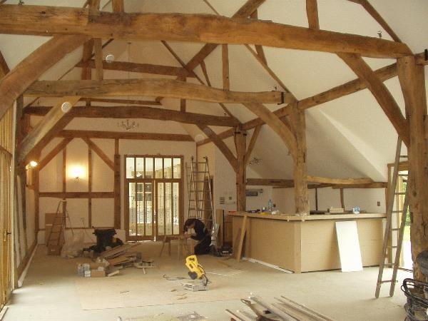 Beautiful Dutch Barn With H Frame Interior Barn Conversions
