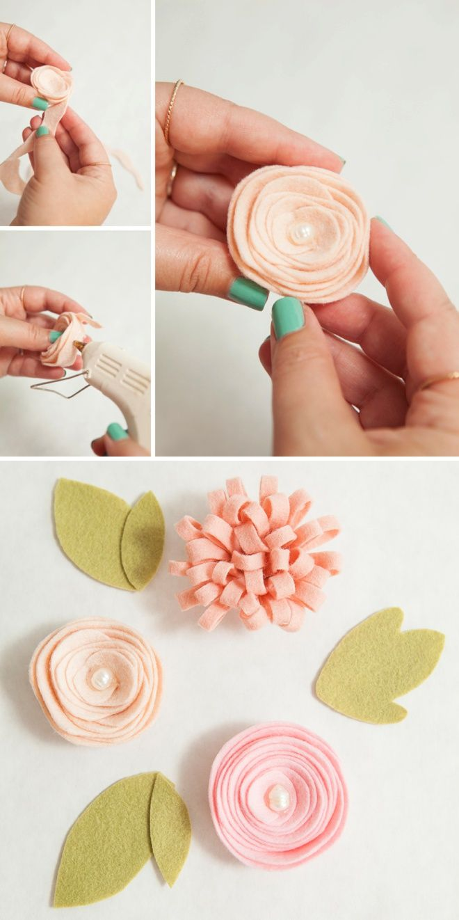 Learn How To Make The Most Adorable Felt Flower Girl