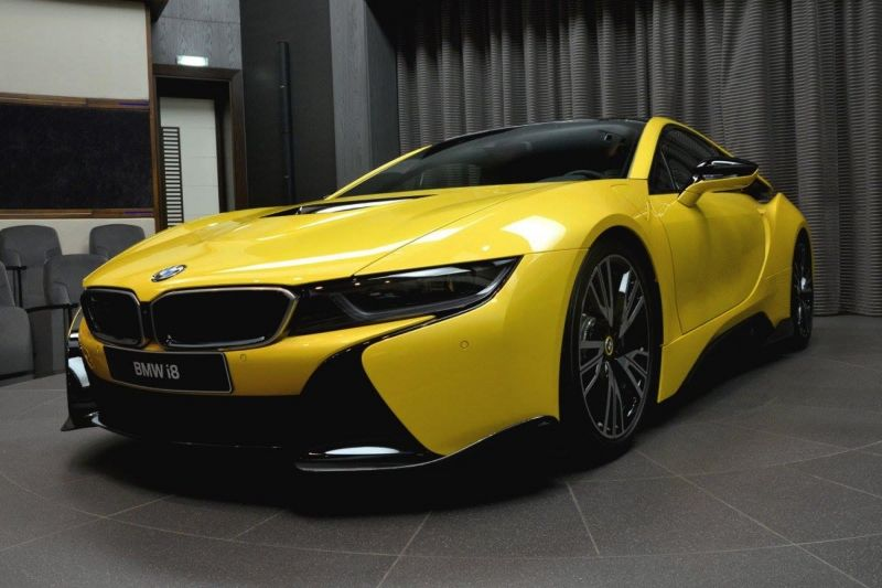 Once You See This New Lava Yellow Bmw I8 You Will Never Want To