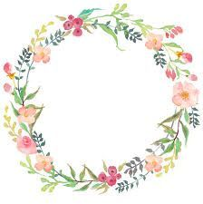 Images For Floral Wreath With Transparent Background Google Search Watercolor Flower Wreath Wreath Watercolor Flower Frame
