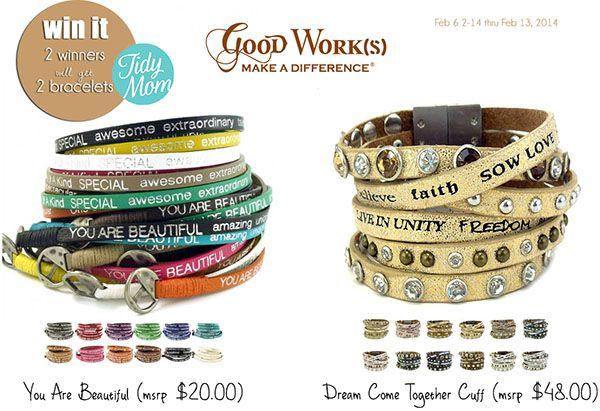 Good Works Bracelets Giveaways Win It