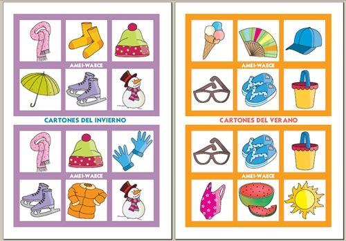 Loteria En Ingles Para Ninos Imagui Ingles Pinterest Bingo