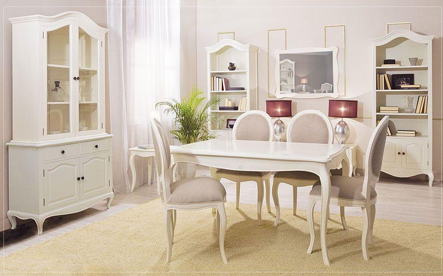 Muebles comedor vintage frances for Muebles estilo frances