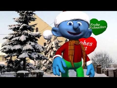 Gruß zum 4. Advent, Schlumpf Wünsche zu Weihnachten - YouTube ...