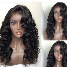 Brazilian Full Lace Wigs With Baby Hair Natural Hairline Wigs For Black  Women Best Body Wave Lace Front Wig c1b6a5ed16