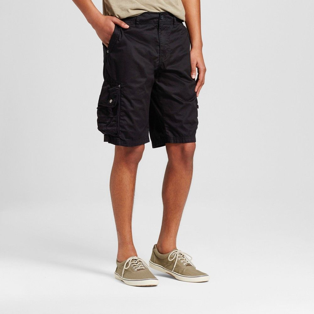 c0bb42f876 Men's Cargo Shorts Black 34 - Mossimo Supply Co. | Products | Shorts ...