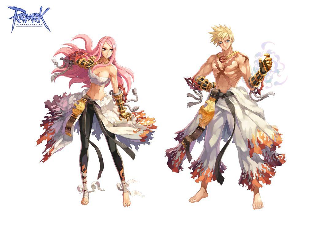 Anime Characters With Jobs : Ragnarok online sura concept art pinterest