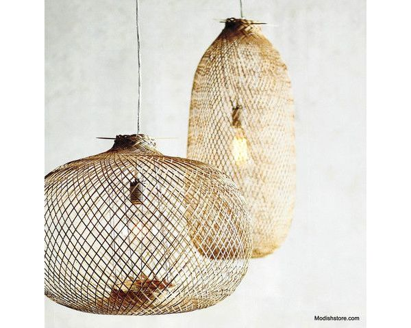 Global Style: Fish Trap Pendant Lights