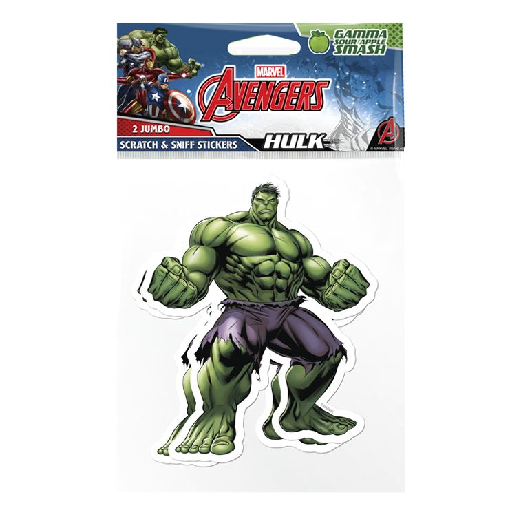 Marvel Ultimate Spider-Man Jumbo Scratch and Sniff Stickers