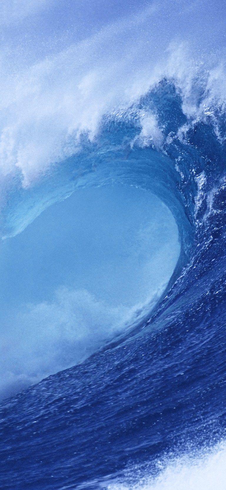 Blue Wave Ios 7 Wallpaper Ios Wallpapers Ios 10 Wallpaper