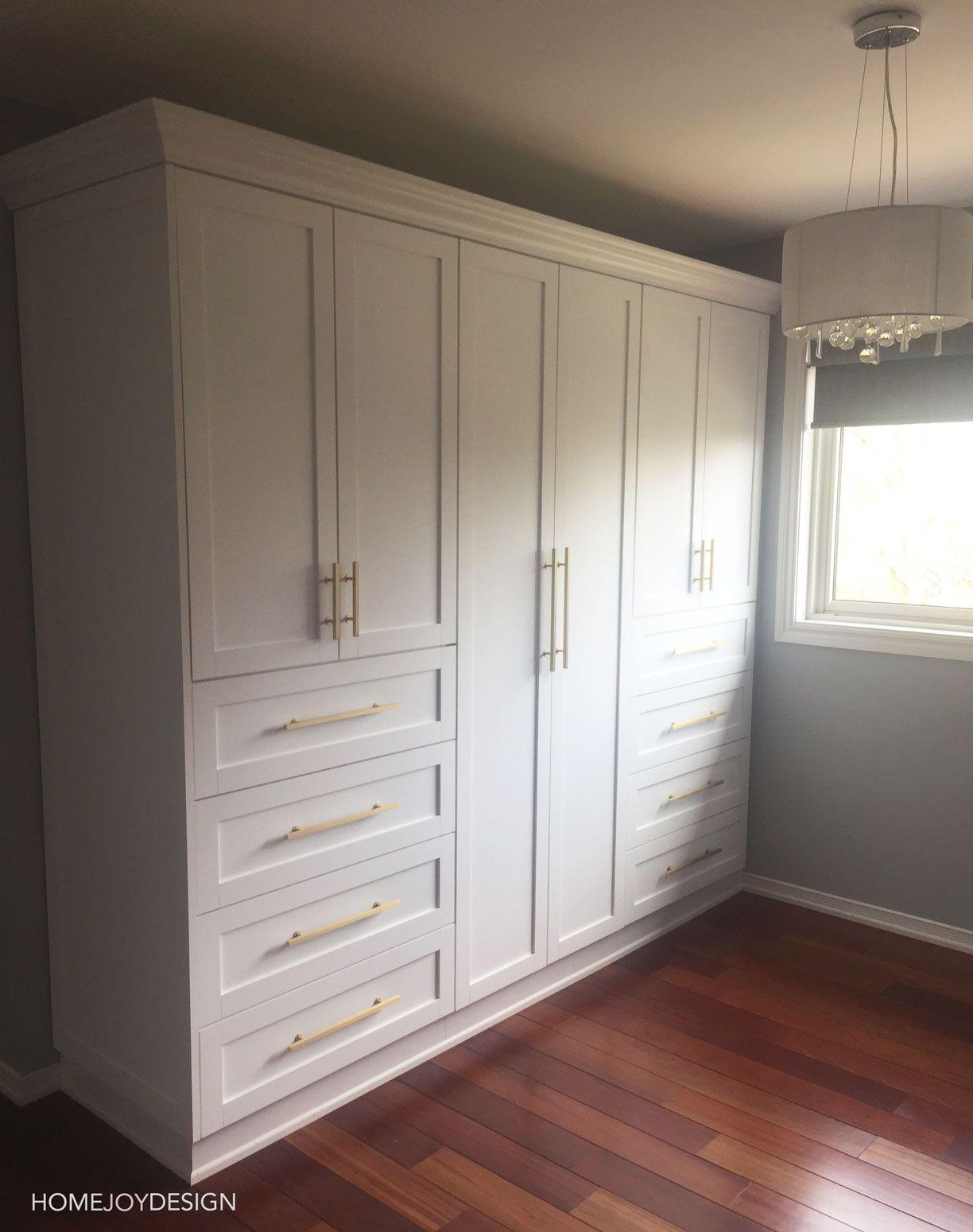 White Wardrobe For The Win Build A Closet Closet Designs