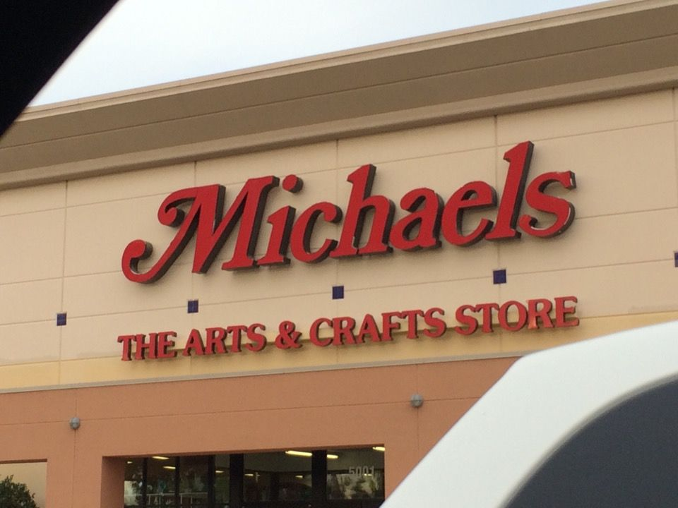 Michaels closed fort myers craft stores neon signs