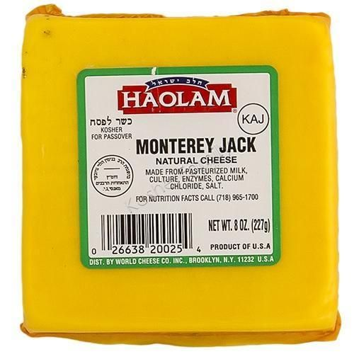 Haolam Monterey Jack Cheese, 8 Oz   Cheese   Grocery delivery
