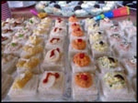 Canapes variados receta casera recetas con videos - Canapes frios y faciles ...