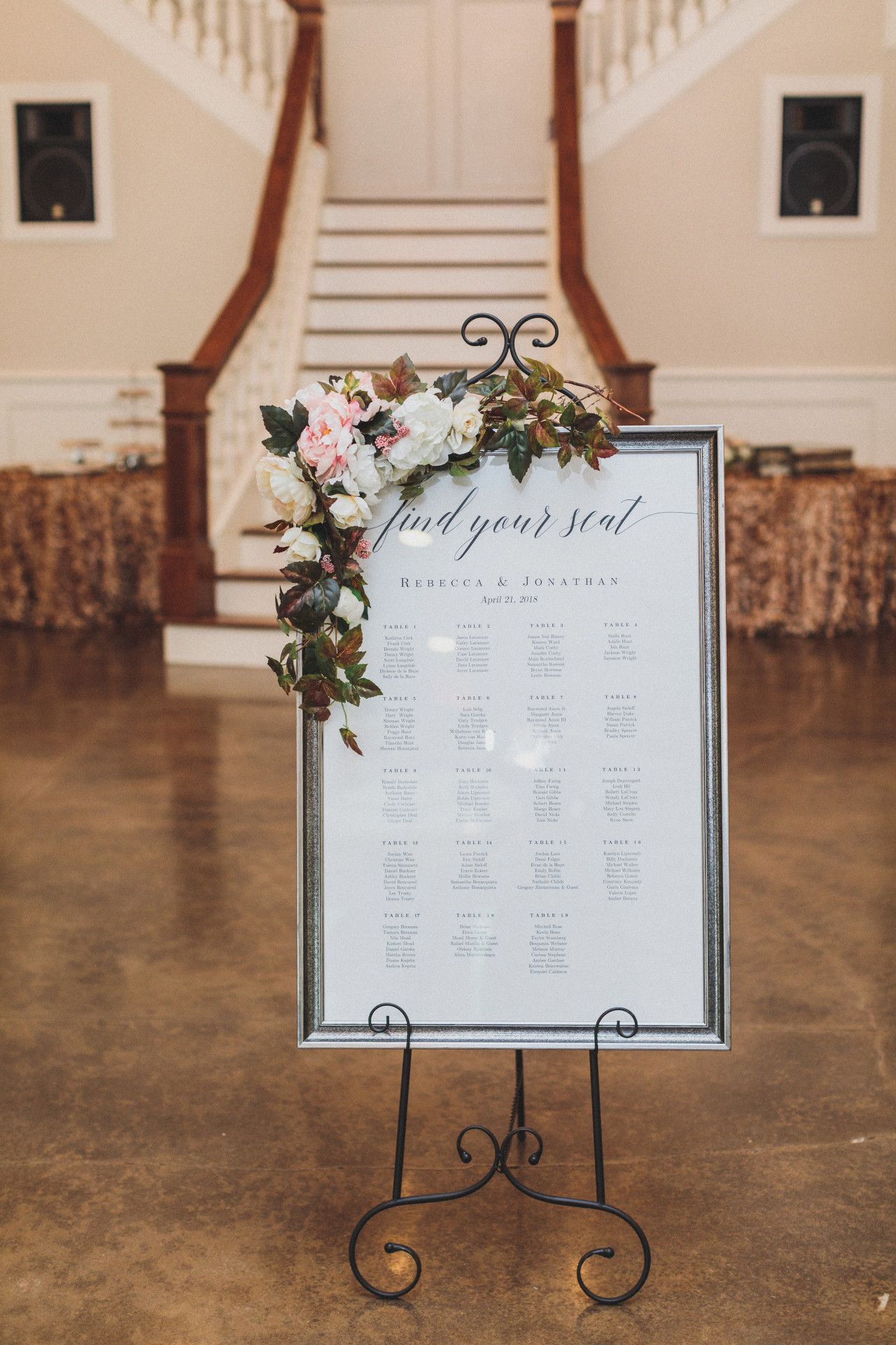 Elegant Wedding Signs Modern Wedding Signs Blush Pink Wedding