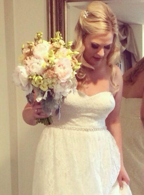 Getting ready wedding day