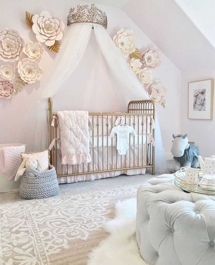 A Little Princess Nursery Design: Baby Nursery Decor, Girl Room