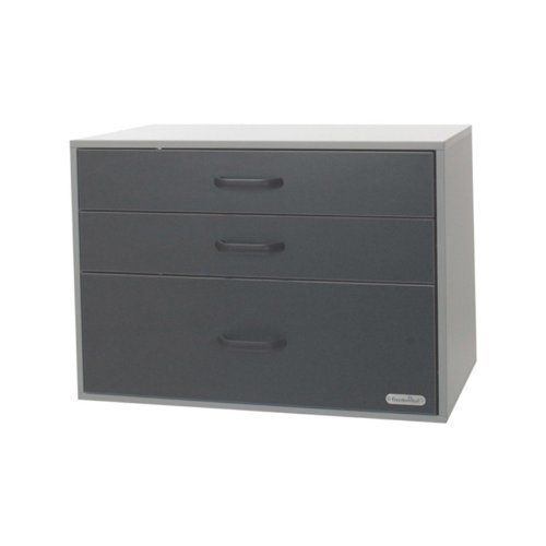 SCHULTE 7315200617 Go-Box 3 Drawer Granite by Schulte. $281.99. From the Manufacturer                GO-Boxes, short for Garage Organization Boxes, are modular cabinets that are used in the garage to create an organized space. The GO-Boxes hang side by side horizontally or stack vertically within any garage space. Brackets allow GO-Boxes to be mounted directly to uprights. The 3 drawer GO-Box provides a secure, organized storage option. The two smaller drawers measu...