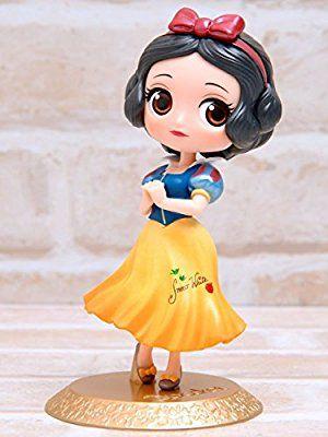 "Figurine Q Posket /""PETIT/"" Disney Blanche Neige Winter Costume 7cm"