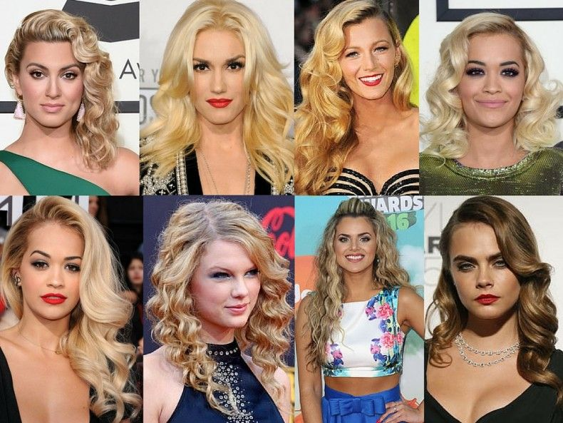 Red Carpet Inspired Hair Styles For Any Occasion | Hollywood curls ...