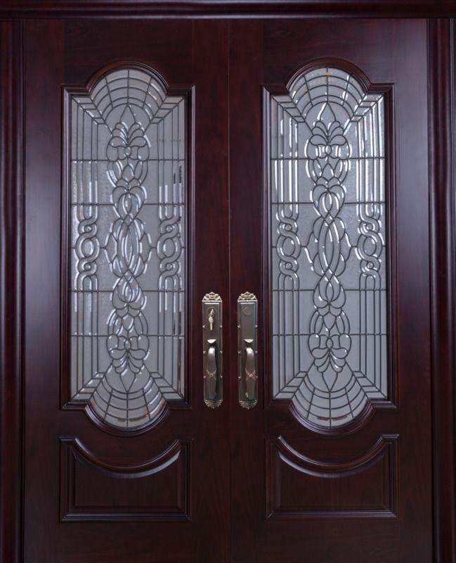 Mahogany Double Front Entry Doors 6 X 6 8 2 3 8 Thick Classic Doors Double Front Entry Doors Front Entry Doors Entry Doors