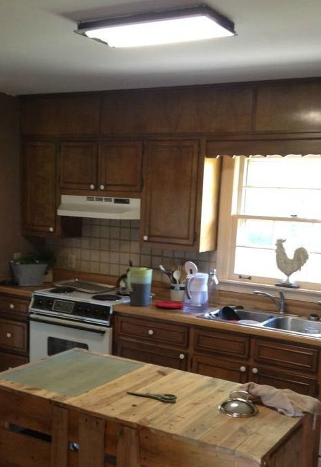 diy farmhouse kitchen makeover for 5000 including appliances cheap kitchen remodel on kitchen remodel under 5000 id=49225