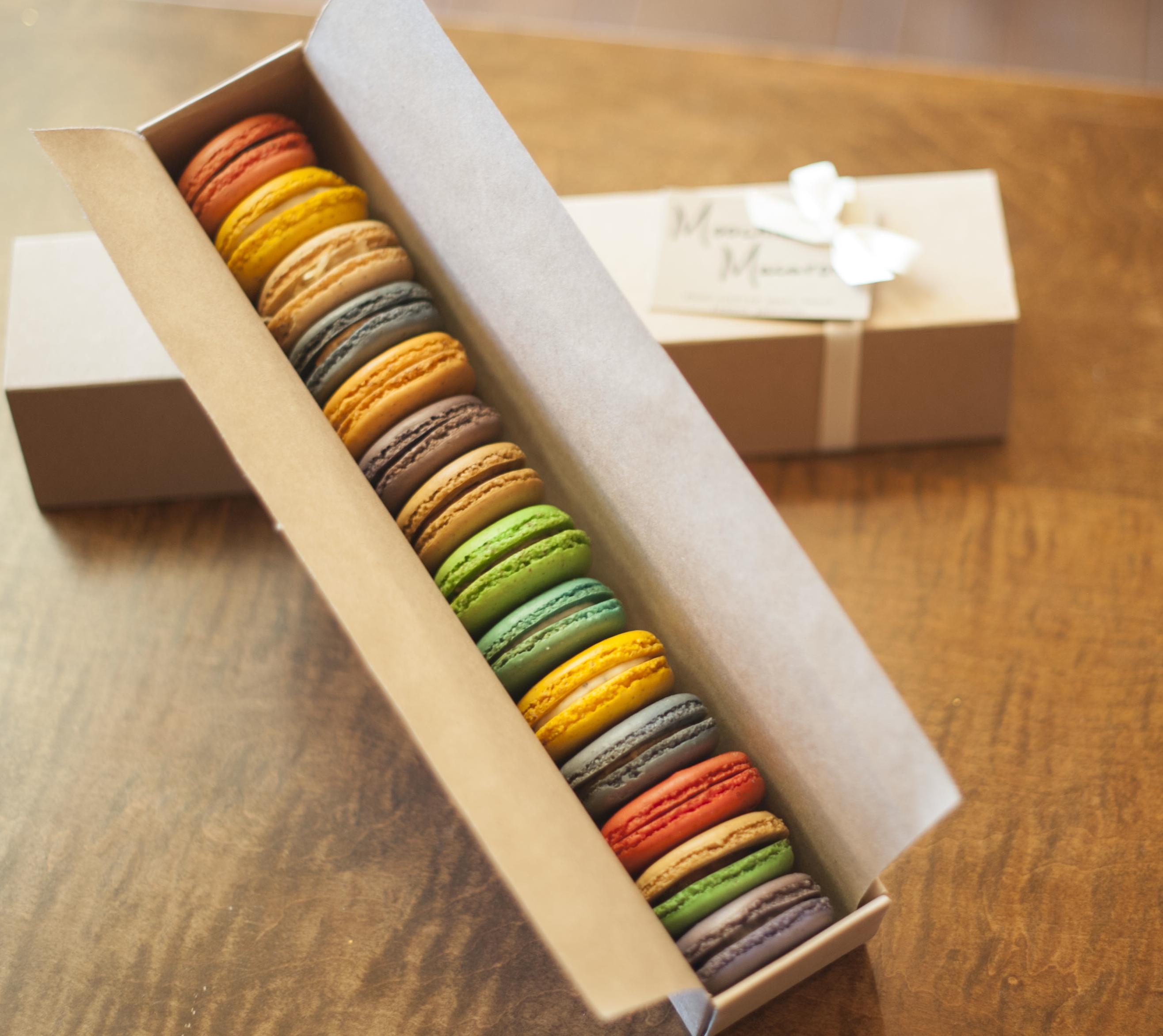 14-macaron gift box set | French Macaron Photos | Pinterest ...