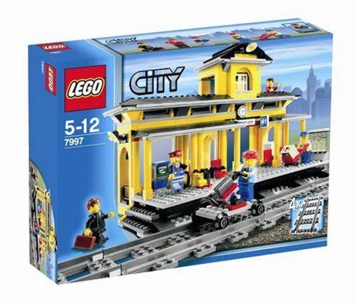 Lego City Train Station 7997 Lego City Train Lego City Lego Train Station