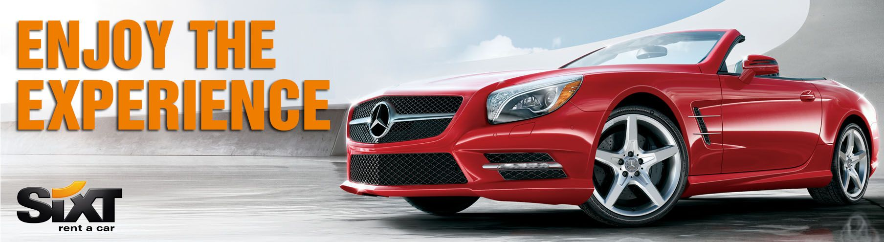 The experience for us is so important. Las Vegas, Sixt