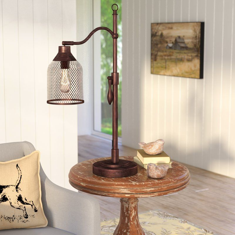 Laurent Arched Table Lamp Table lamp, Lamp, Farmhouse