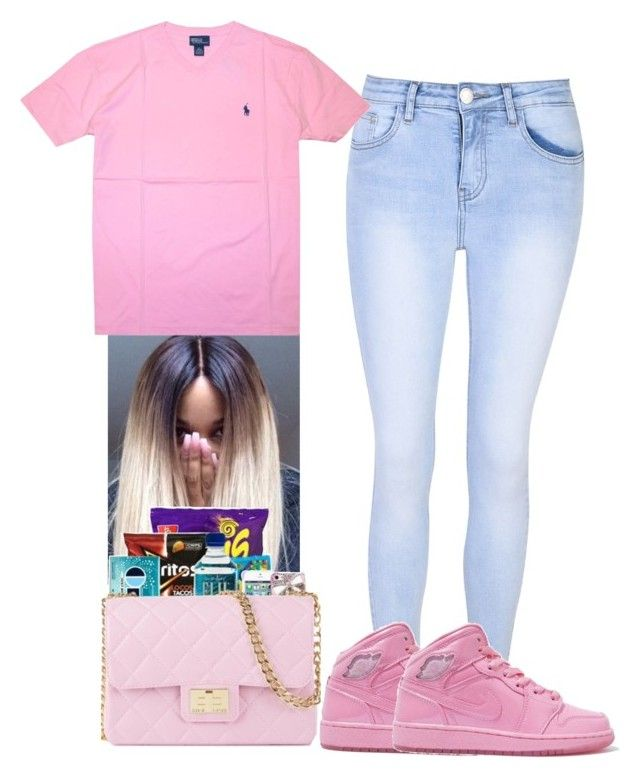 3333fab5 by shadea04 on Polyvore featuring Glamorous and Polo Ralph Lauren ...