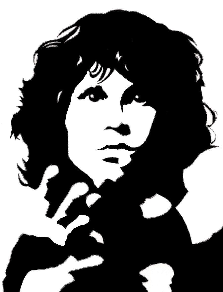 Jim Morrison By Sheerfrost22 On Deviantart Jim Morrison High Contrast Images Art