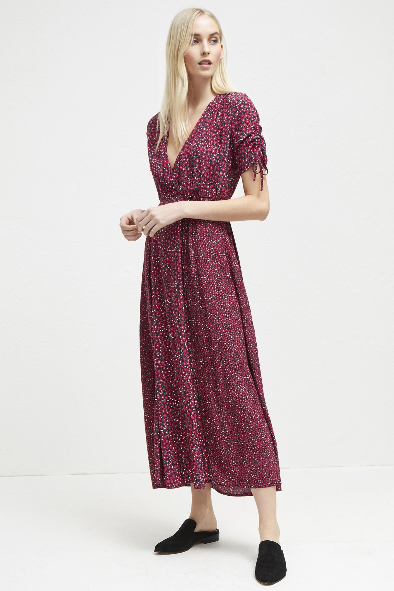 c0de4199d998 French Connection Aubine Fluid Floral Maxi Dress - 10