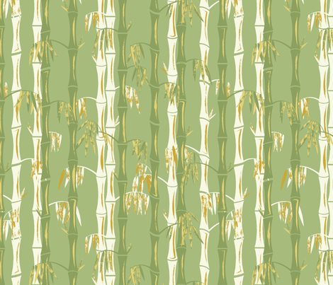 fabric quilting fabric wallpaper wrapping paper bamboo forest
