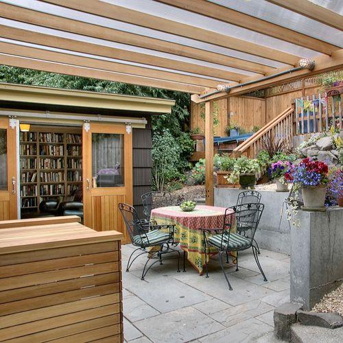 Outdoor Covered Porch Well Done Garten