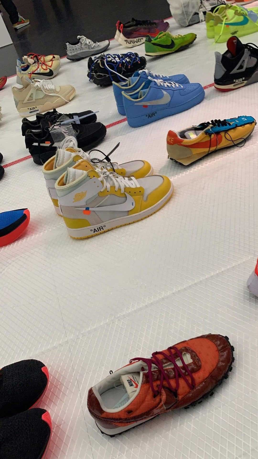 Unreleased OFF-WHITE x Nike Samples