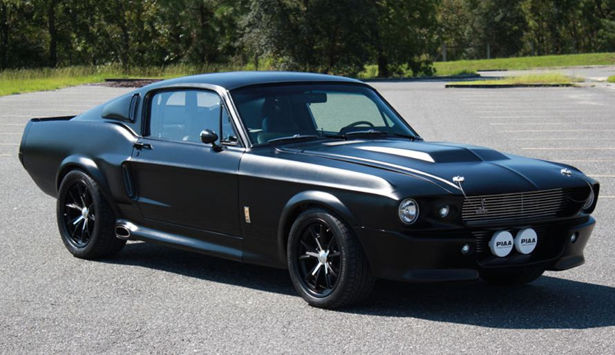 Ebay Find Of The Day Murdered Out 67 Shelby Gt500 With Images